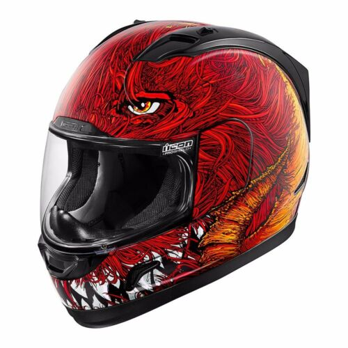 Motorcycle Helmet Lucifer *SHIPS SAME DAY* ICON Alliance