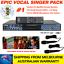thumbnail 1 - SONKEN-PRO-MP4000-KARAOKE-MACHINE-414-SUNFLY-SONGS-37-DVDS-2-WIRED-MICS