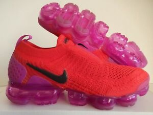 dc2aea847fb WMNS NIKE AIR VAPORMAX FLYKNIT MOC 2 UNIVERSITY RED-BLACK SZ 5 ...