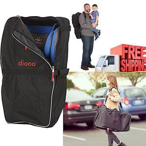 Image Is Loading Car Seat Travel Bag Black Shoulder Backpack Waterproof
