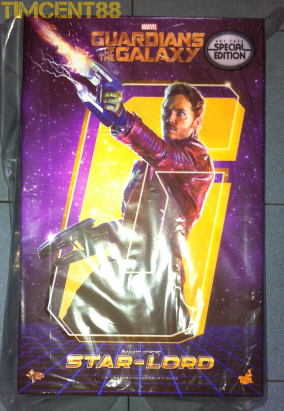 Ready Hot Toys MMS255 Guadrians of the Galaxy 1 6 Star-Lord Chris Special