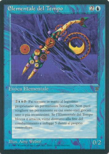 MTG Magic the Gathering ITALIAN Legends Time Elemental /'NM//MINT Condition!
