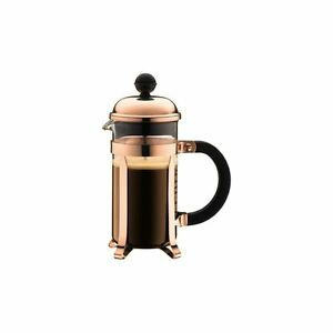 bodum chambord kaffeebereiter kupfer 3 tasse 0 35 l. Black Bedroom Furniture Sets. Home Design Ideas