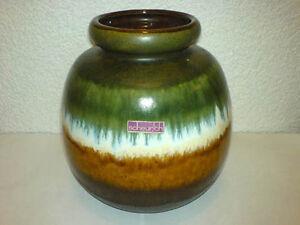 Vase-Scheurich-WGP-Mid-Century-60s-70s-Keramik-284-19