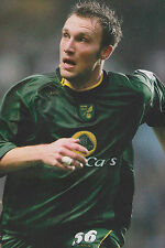 Football Photo DEAN ASHTON Norwich City 2005-06