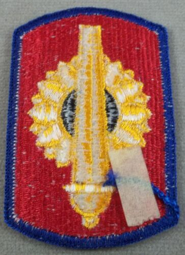 US Army 130th Field Artillery Brigade Full Color Merrowed Edge Patch