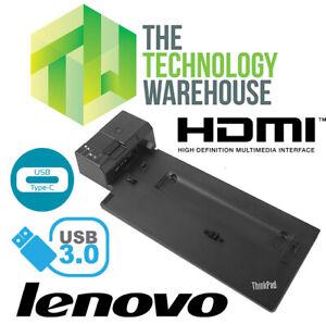 Lenovo-ThinkPad-Ultra-Ordinateur-Portable-Station-D-039-accueil-40AJ-USB-3-1-USB-Type-C-HDMI