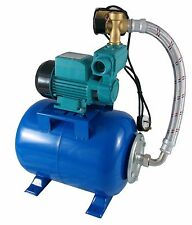"IBO 1""WZI250 BOOSTER WATER PUMP silent,small,electric,house +24L pressure VESSEL"