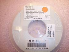 Qty 5000 10k Ohm 18w 5 0805 Smd Chip Resistors Cr21 103j T Avxkyocera