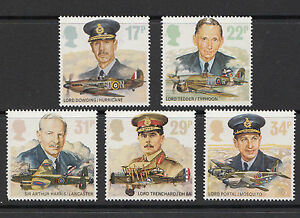 GB-MNH-STAMP-SET-1986-Royal-Air-Force-SG-1336-1340-UMM