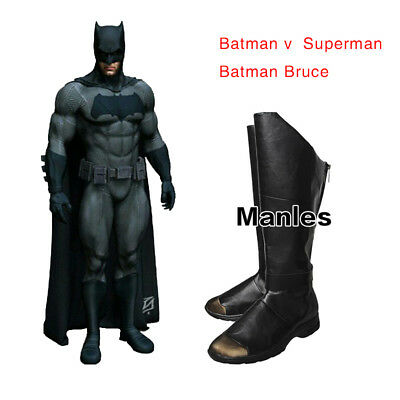 Batman Justice League Cosplay Superhero Halloween Festival Props Men Shoes Boots