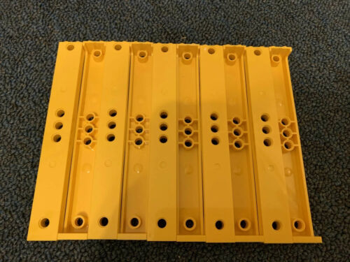 LEGO NEW 2x2x13 Yellow Support With 5 Pegholes 10pcs 6072694 Brick 91176