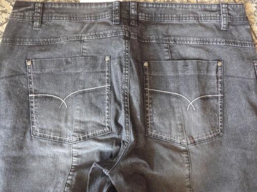 Joe Browns Jeans Hose Gr 305 40-58 Black