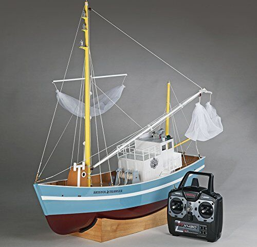 Aquacraft Bristol Trawler Fishing 2,4 Ghz Rtr Incl. Radio Controll AQUB5719
