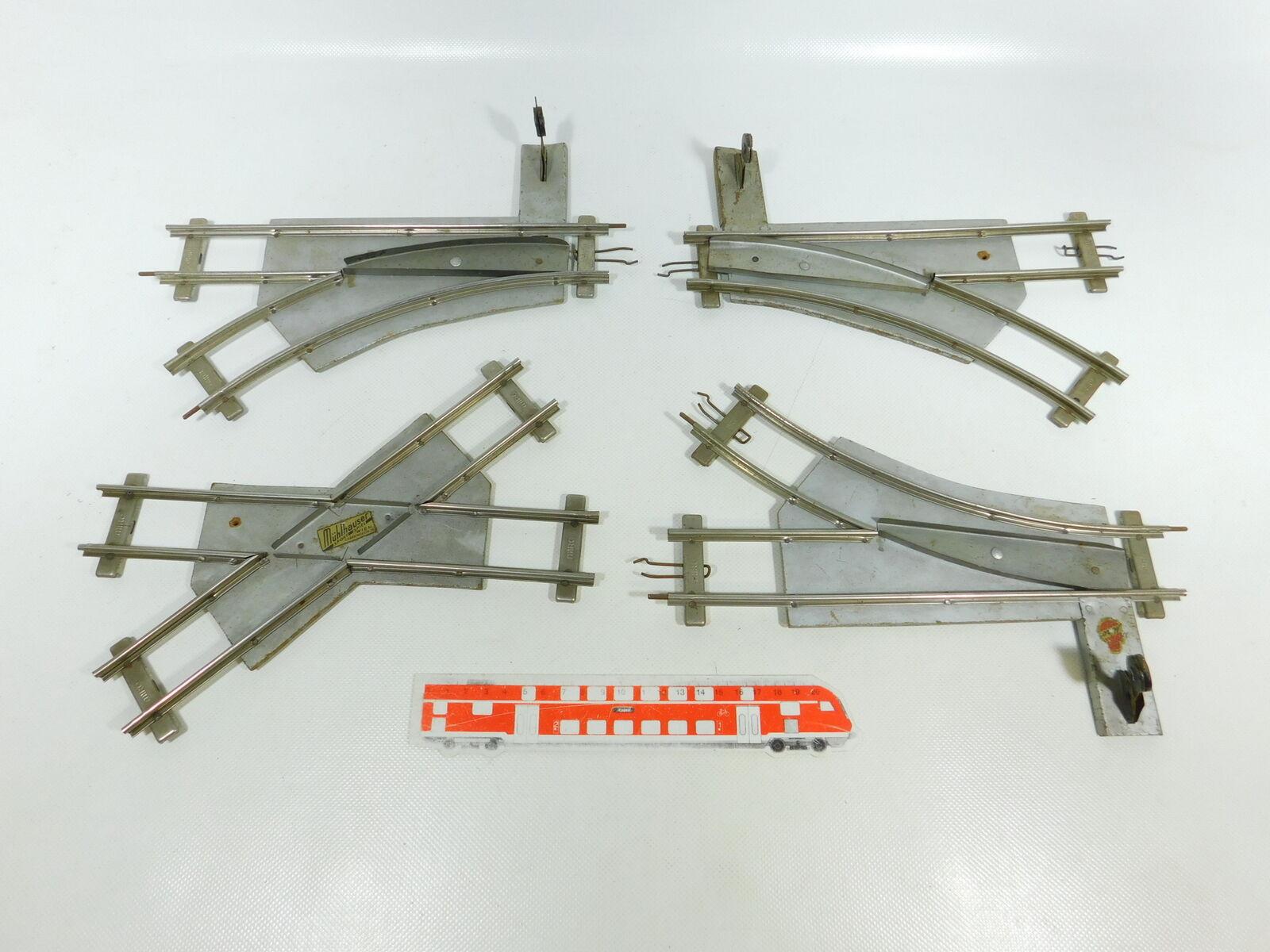 Bw198-1 x Miro o Gauge Manual Points Crossing Schrägschwelle For