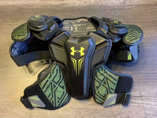 Under Armour Command Pro Shoulder Pad Lacrosse Adult Large COM17PSPM-L-BLK
