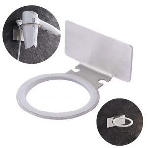 Neu Haartrocknerhalter Fonhalter Fonhalterung Silber Badezimmer