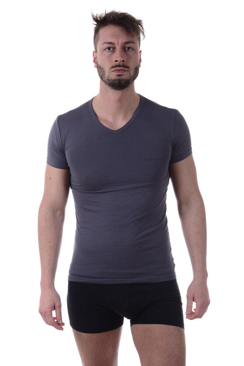 T shirt Maglietta Emporio Armani Sweatshirt Cotone Uomo Nero 1115127P717 1115127P717 1115127P717 41720 8369f0