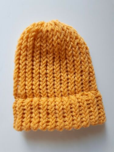 Hand Knitted Baby Beanie Nouveau-né