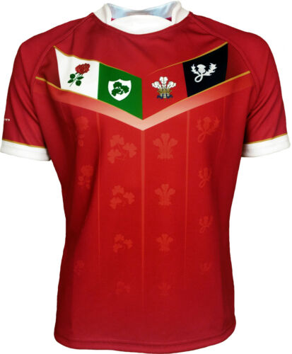 Olorun British Legends Rugby Shirt Home Mens S-7XL