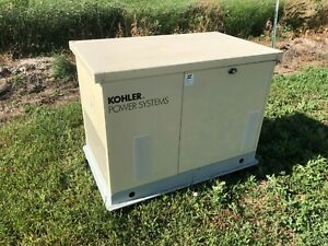 NEVER-STARTED-Kohler-Power-Systems-Natural-Gas-Generator-8-5RES-120-240V