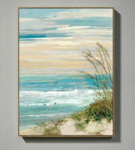 CHOP1478 100% handmade painted ocean landscape oil painting art on canvas