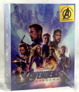 AVENGERS-ENDGAME-Blu-ray-4K-UHD-2D-Steelbook-FANATIC-SELECTION-OC-BOXSET