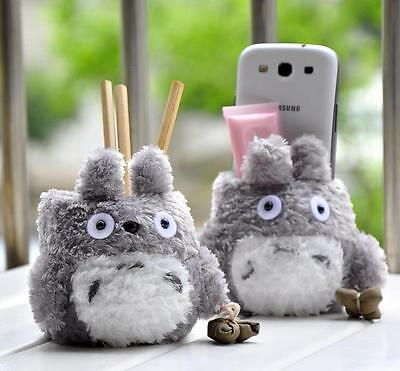 Cute Totoro Pen Pencils Holder Office Desktop Stationery Organizer Girls Gift