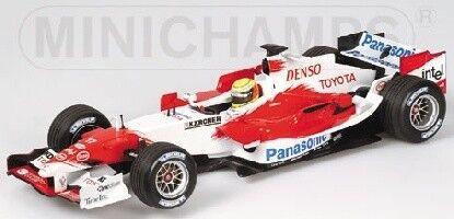 Toyota Tf105 R. Schumacher 2005 1:43 Model MINICHAMPS
