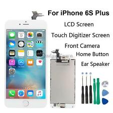 White LCD Display Touch Screen Digitizer Camera Replacement For iPhone 6S Plus