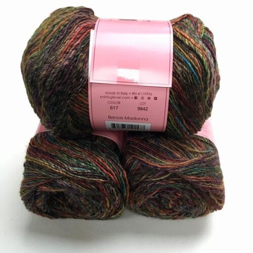 Louisa Harding Pittura 4 Ply 100g 75/% Wool /& 25/% Bamboo Viscose