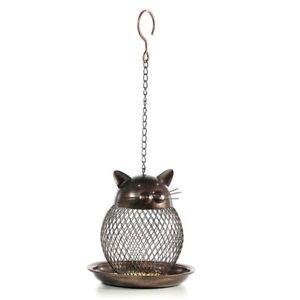 Mangeoire-Pour-Oiseaux-en-Forme-de-Chat-Mannequin-Pour-Chats-Vintage-Fait-M-T9U4