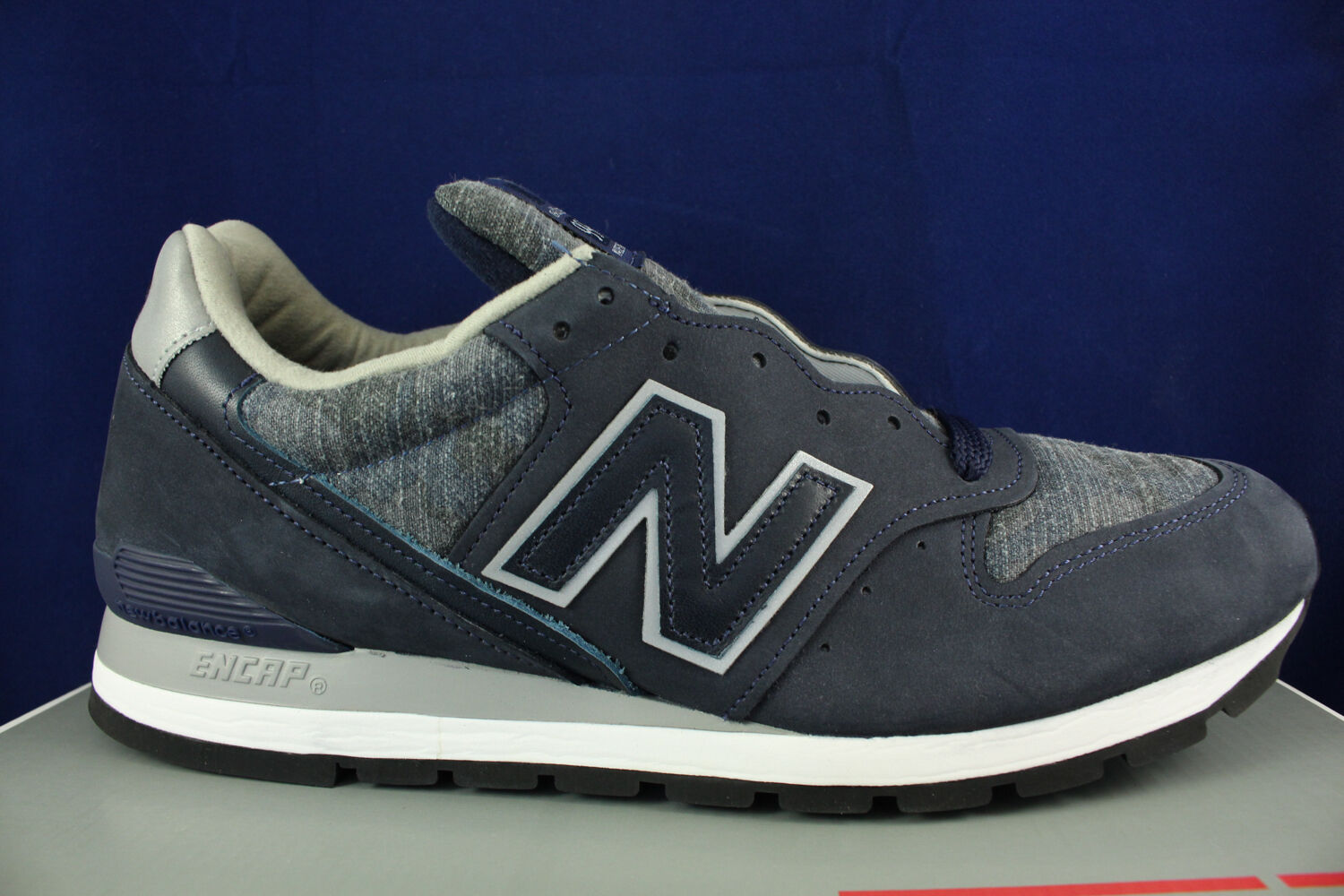 NEW BALANCE 996 AGE OF EXPLORATION MADE IN USA NAVY PIGMENT M996DPLS SZ 7