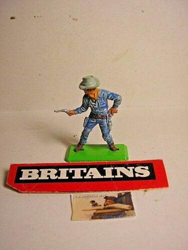 soldatino Toy Soldier Britains Deetail LTD 1971 Cowboy scala 1:32
