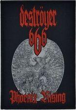 DESTRÖYER 666 - Phoenix Rising - Woven Patch / Aufnäher
