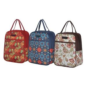 Details about Recycle Cooler Insulated Lunch Bag for Family Women Men Kids  Prep Meal Tote Bag