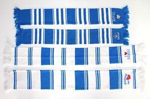 rivenditore di vendita 48d74 fb83b Details about Napoli Scarf Retro Vintage Football Scarves Sciarpa Italia  Love Blue Calcio Knit
