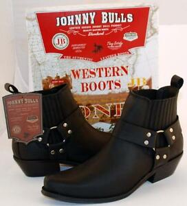 Bottes-Homme-SANTIAGS-BOTTINES-Cuir-JOHNNY-BULLS-Pointure-40-41-42-43-44-45-46