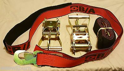 2 Red 38-3D wheel Strap BA Product 2 38-22D ratchets snaphook case tow truck