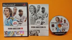 FIFA-Soccer-09-2009-EA-Sports-PS2-Playstation-2-Game-1-Owner-FLAWLESS-Mint-Disc