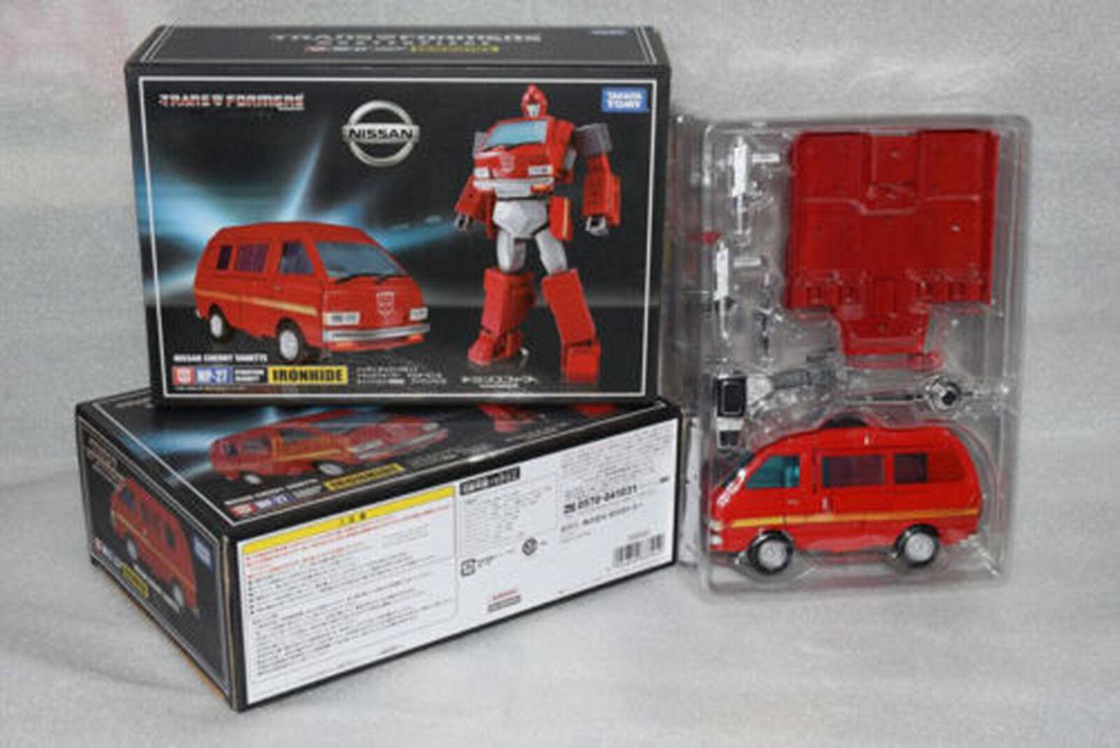 Transformatoren meisterwerk mp-27 mp27 ironhide autobots actionfigur geschenk neue