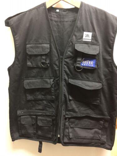 Nieuwe Zwart Vertec Fs Series Jbl Professional Sz Multi Xxl Pocket Vest PfrqCPnxH