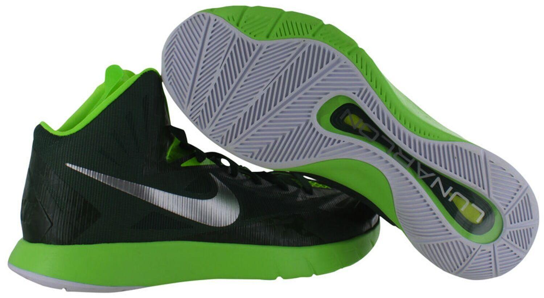 Nike Lunar Hyperquickness TB Men's Green Basketball Shoes 652775-303 Sz 16