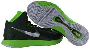 sale retailer 8cb4d 28dd9 La foto se está cargando Nike-Lunar-Hyperquickness-TB-Men-039-s-Green-