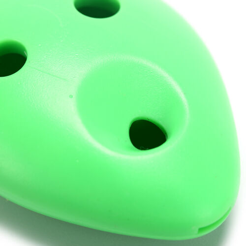 6 Hole Ocarina plastic C Legend Ocarina Flute Instrument tool 5 colR^m^
