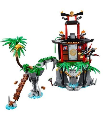 Lego Ninjago Masters of Spinjitzu Tiger Widow Island 70604 NO minifigures or box