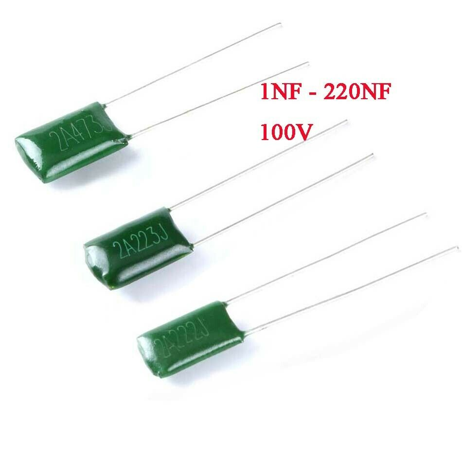 Film Capacitors 220 nF Pack of 50