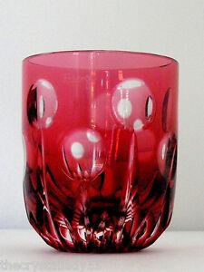 FABERGE Na Zdorovye VODKA//SHOT GLASS BLACK ONYX CASED CLEAR CRYSTAL NEW!