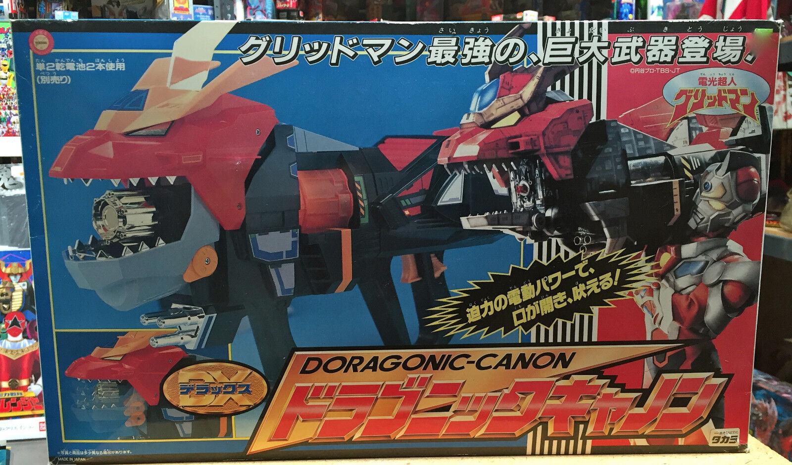 Gridman Dx Doragonic Canon Takara Batteriebetrieben Super Herrench Samurai Syber