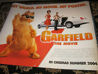 Garfield The Movie 2004 Original Double Sided Uk Quad Poster Ebay